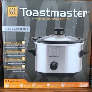 Toastmaster 1.5 QT slow cooker